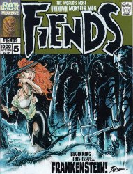 Rat House Comics's Fiends Issue # 5