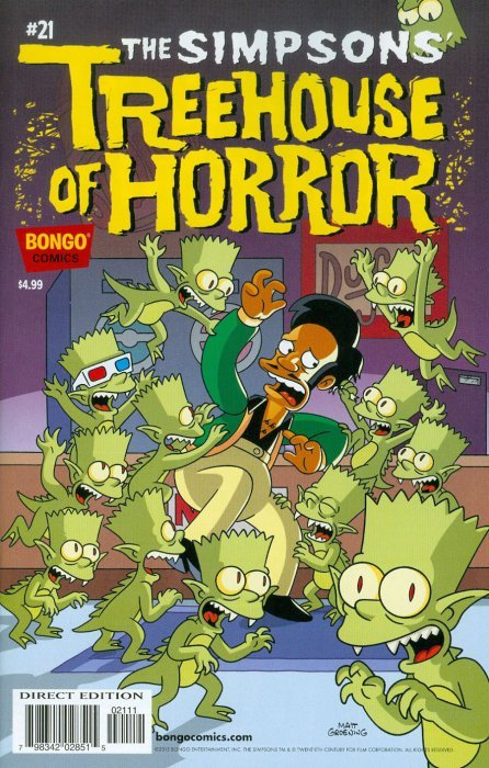 Simpsons season 21 treehouse of horror - Ring the bell movie