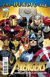 Marvel Comics's The Avengers Issue # 1