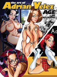S.Q. Productions's Art of Adrian Velez: Age of Delights! Soft Cover # 1