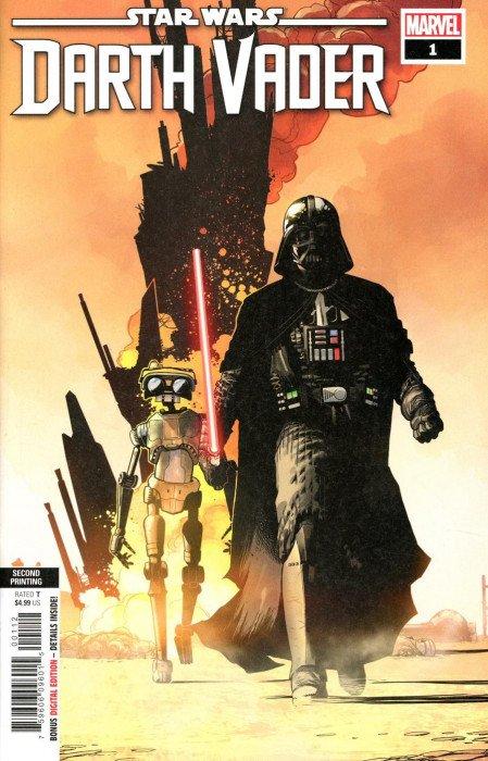 Star Wars Darth Vader #1  Variant Edition Marvel Comics HP2086
