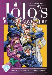 Viz Media's Jojo's Bizarre Adventure: Diamond is Unbreakable Hard Cover # 4