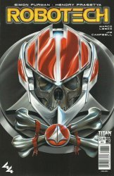 Titan Comics's Robotech Issue # 13c