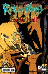 Oni Press's Rick and Morty: Go to Hell Issue # 5