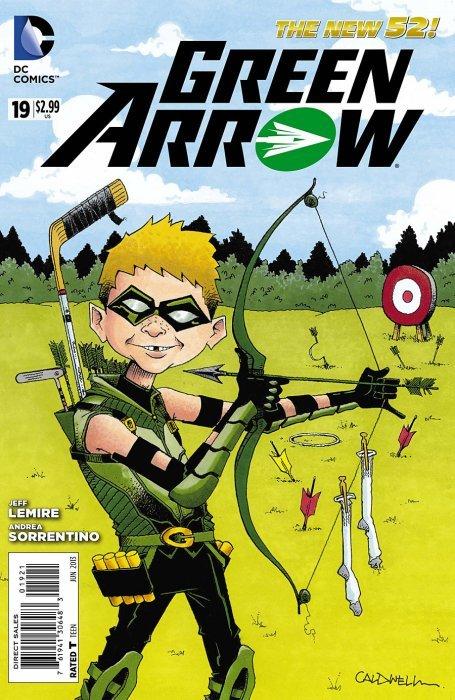 DC Comicss Green Arrow Issue 19b