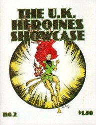 Steven R. Johnson's U.K. Heroine Showcase Issue # 2