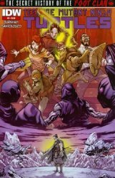 IDW Publishing's Teenage Mutant Ninja Turtles: The Secret History of the Foot Clan Issue # 3-2nd print