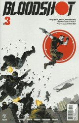Valiant Entertainment's Bloodshot Issue # 3