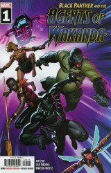 Marvel Comics's Black Panther and the Agents of Wakanda Issue # 1