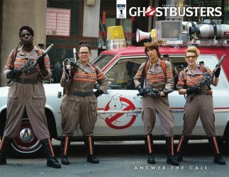 IDW Publishing's Ghostbusters: Answer the Call Issue # 1ri