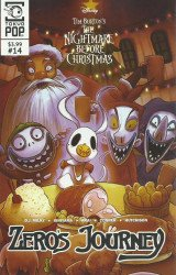 Tokyo Pop/Mixx's Tim Burton's Nightmare Before Christmas: Zero's Journey Issue # 14