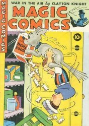 David McKay Publications's Magic Comics Issue # 34