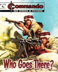 D.C. Thomson & Co.'s Commando: War Stories in Pictures Issue # 1173
