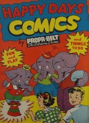 Propr-Bilt's Happy Days Comics Issue nn