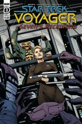 IDW Publishing's Star Trek Voyager: Seven's Reckoning Issue # 3