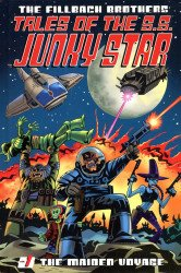 First Comics's Tales Of The SS Junky Star  Hard Cover # 1