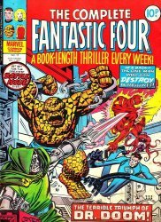 Marvel UK's Complete Fantastic Four Issue # 11
