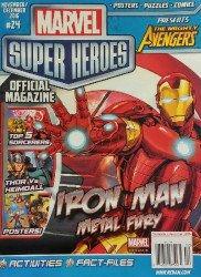 Redan's Marvel Super Heroes Magazine Issue # 24
