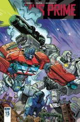 IDW Publishing's Optimus Prime Issue # 15ri
