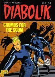 Scorpion Productions Inc.'s Diabolik Soft Cover # 3