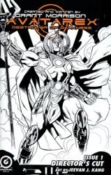 Graphic India's Grant Morrisons: Avatarex - Destroyer Of Darkness Issue # 1director cut
