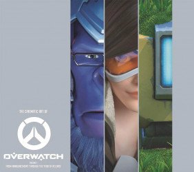 Blizzard Entertainment's Cinematic Art of Overwatch Hard Cover # 1
