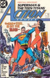 DC Comics's Action Comics Issue # 584