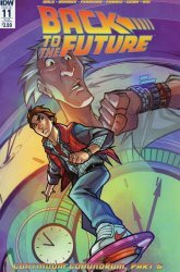 IDW Publishing's Back to the Future Issue # 11sub