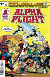 Marvel Comics's Alpha Flight Issue # 1facsimile