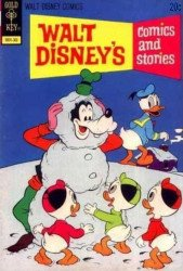 Gold Key's Walt Disney's Comics and Stories Issue # 390b