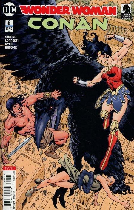 Wonder Woman Conan #1 B 2017 NM DC Comics 1st Print