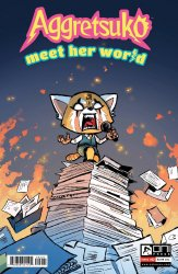 Oni Press's Aggretsuko Meet Her World Issue # 2b