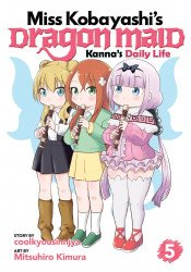 Seven Seas Entertainment's Miss Kobayashi's Dragon Maid: Kanna's Daily Life Soft Cover # 5