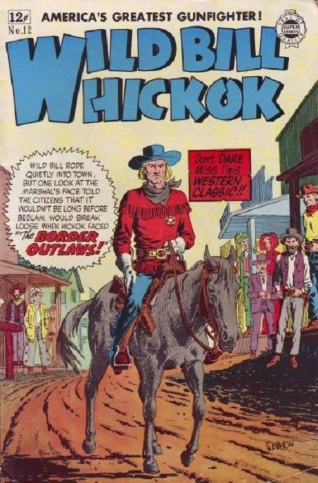 Image result for alan moore wild bill hickok