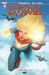 IDW Publishing's Marvel Action: Captain Marvel Issue # 3ri