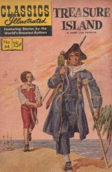 Gilberton Publications's Classics Illustrated #64: Treasure Island Issue # 11