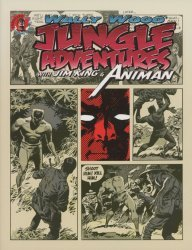 Vanguard Productions's Wally Wood: Jungle Adventures with Jim King & Animan  Soft Cover # 1