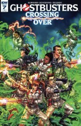 IDW Publishing's Ghostbusters: Crossing Over Issue # 7ri