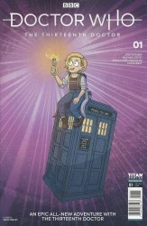 Titan Comics's Doctor Who: 13th Doctor Issue # 1g