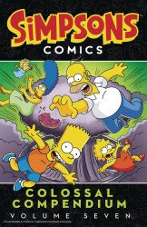 Harper Collins's Simpsons Comics: Colossal Compendium TPB # 7
