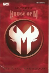 Marvel Comics's Secrets of the House of M Handbook Issue # 1