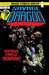 Image Comics's Savage Dragon Issue # 254b
