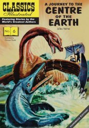 Classics Illustrated Comics's Classics Illustrated: A Journey to the Center of the Earth Hard Cover # 1