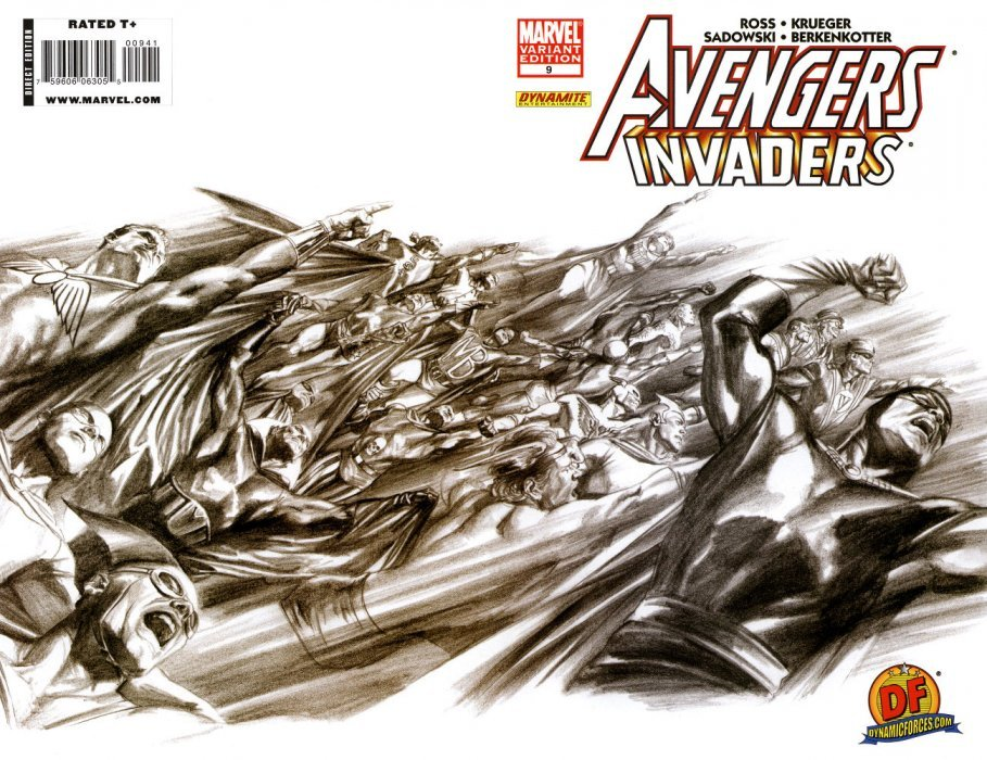 Marvel Comicss Avengers Invaders Issue 9dynamic Forces