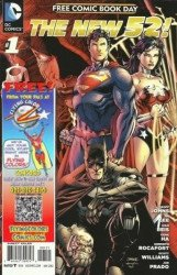 DC Comics's New 52: Free Comic Book Day Issue # 1flying colors