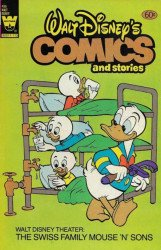 Whitman's Walt Disney's Comics and Stories Issue # 496