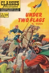 Gilberton Publications's Classics Illustrated #86: Under Two Flags Issue # 7