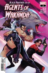 Marvel Comics's Black Panther and the Agents of Wakanda Issue # 2