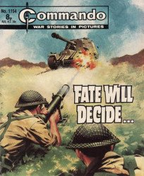 D.C. Thomson & Co.'s Commando: War Stories in Pictures Issue # 1154