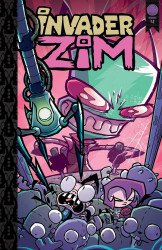 Oni Press's Invader Zim Hard Cover # 4